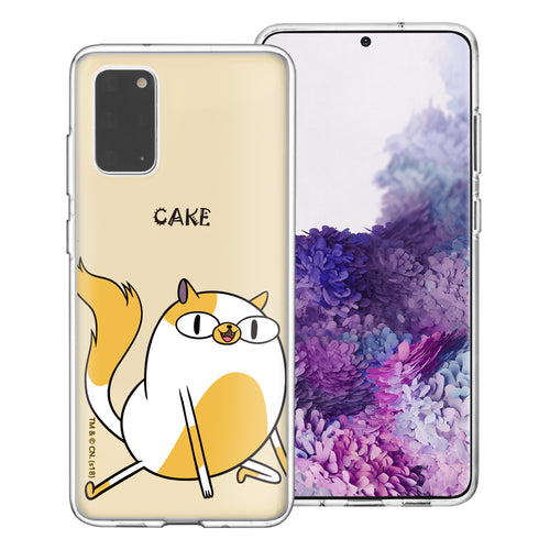 Galaxy Note20 Ultra Case (6.9inch) Adventure Time Clear TPU Cute Soft Jelly Cover - Lovely Cake
