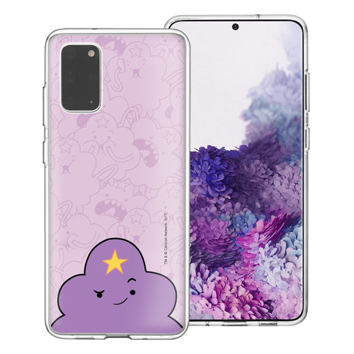 Galaxy Note20 Ultra Case (6.9inch) Adventure Time Clear TPU Cute Soft Jelly Cover - Pattern Lumpy Big