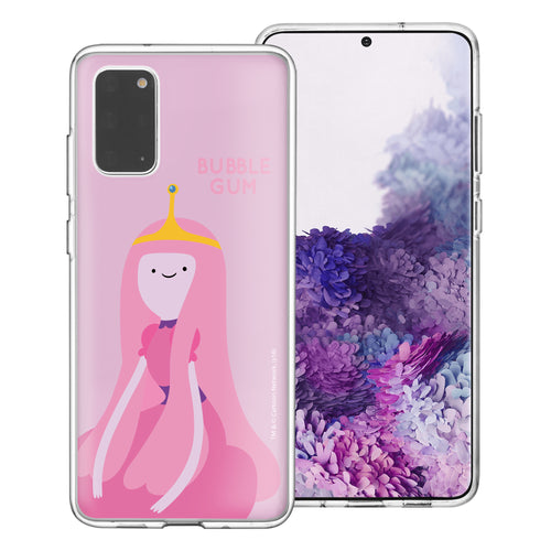 Galaxy Note20 Ultra Case (6.9inch) Adventure Time Clear TPU Cute Soft Jelly Cover - Cuty Princess Bubblegum