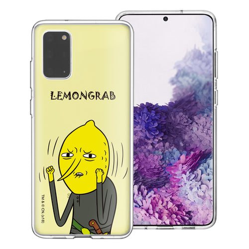 Galaxy Note20 Ultra Case (6.9inch) Adventure Time Clear TPU Cute Soft Jelly Cover - Lovely Lemongrab