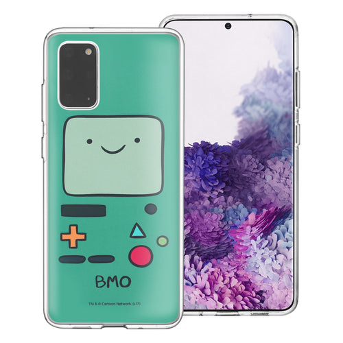 Galaxy Note20 Ultra Case (6.9inch) Adventure Time Clear TPU Cute Soft Jelly Cover - Face Beemo (BMO)
