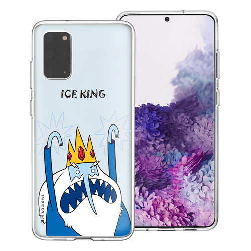 Galaxy Note20 Ultra Case (6.9inch) Adventure Time Clear TPU Cute Soft Jelly Cover - Lovely Ice King