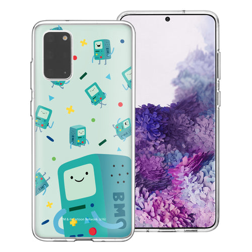 Galaxy Note20 Ultra Case (6.9inch) Adventure Time Clear TPU Cute Soft Jelly Cover - Cuty Pattern BMO