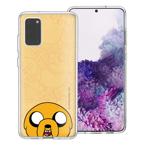Galaxy Note20 Ultra Case (6.9inch) Adventure Time Clear TPU Cute Soft Jelly Cover - Pattern Jake Big