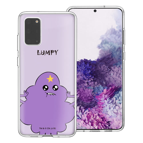 Galaxy Note20 Ultra Case (6.9inch) Adventure Time Clear TPU Cute Soft Jelly Cover - Lovely Lumpy