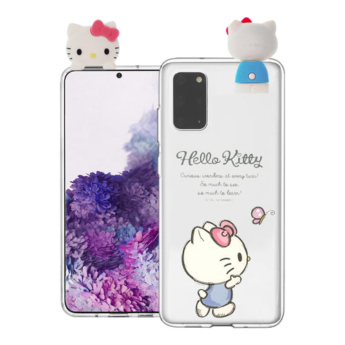 Galaxy S20 Ultra Case (6.9inch) Hello Kitty Cute Figure Doll Soft Jelly Cover for - Figure Hello Kitty Walking