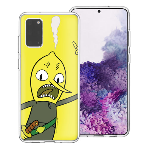 Galaxy Note20 Ultra Case (6.9inch) Adventure Time Clear TPU Cute Soft Jelly Cover - Vivid Lemongrab