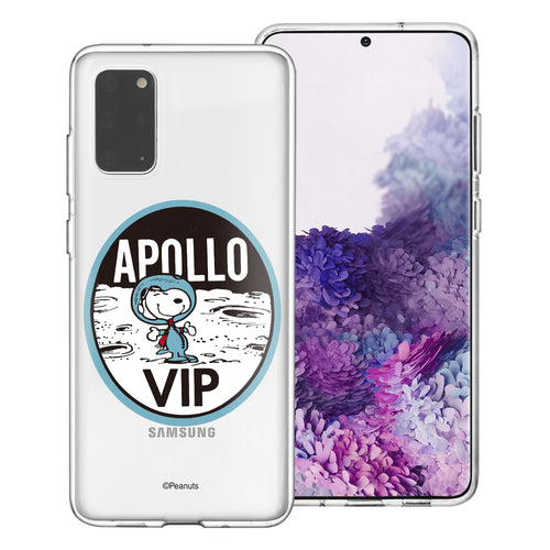 Galaxy S20 Ultra Case (6.9inch) PEANUTS Clear TPU Cute Soft Jelly Cover - Apollo VIP