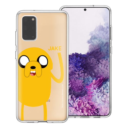 Galaxy Note20 Ultra Case (6.9inch) Adventure Time Clear TPU Cute Soft Jelly Cover - Cuty Jake
