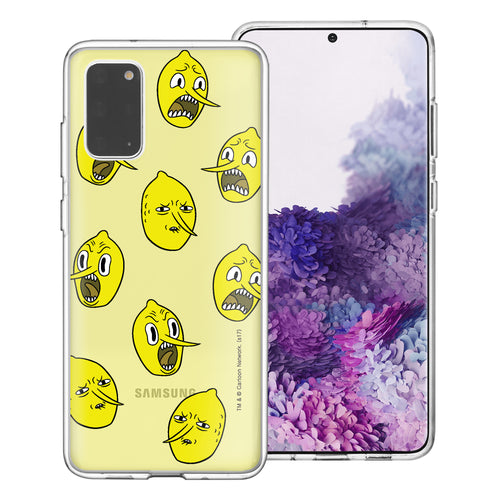Galaxy Note20 Ultra Case (6.9inch) Adventure Time Clear TPU Cute Soft Jelly Cover - Pattern Lemongrab