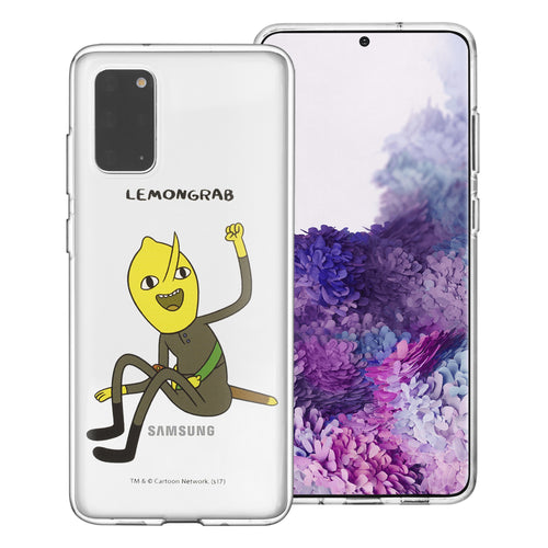 Galaxy Note20 Ultra Case (6.9inch) Adventure Time Clear TPU Cute Soft Jelly Cover - Full Lemongrab