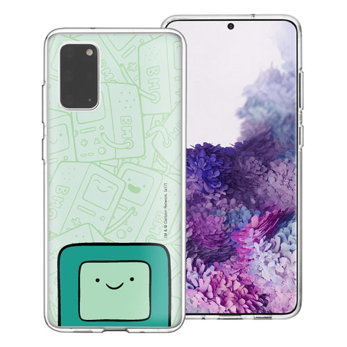 Galaxy Note20 Ultra Case (6.9inch) Adventure Time Clear TPU Cute Soft Jelly Cover - Pattern BMO Big