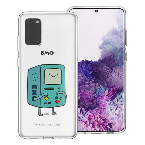 Galaxy Note20 Ultra Case (6.9inch) Adventure Time Clear TPU Cute Soft Jelly Cover - Full BMO