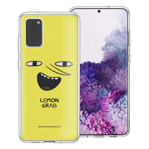 Galaxy Note20 Ultra Case (6.9inch) Adventure Time Clear TPU Cute Soft Jelly Cover - Face Lemongrab