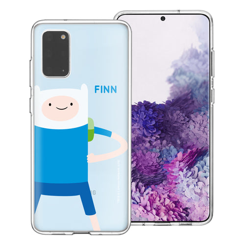 Galaxy Note20 Ultra Case (6.9inch) Adventure Time Clear TPU Cute Soft Jelly Cover - Cuty Finn