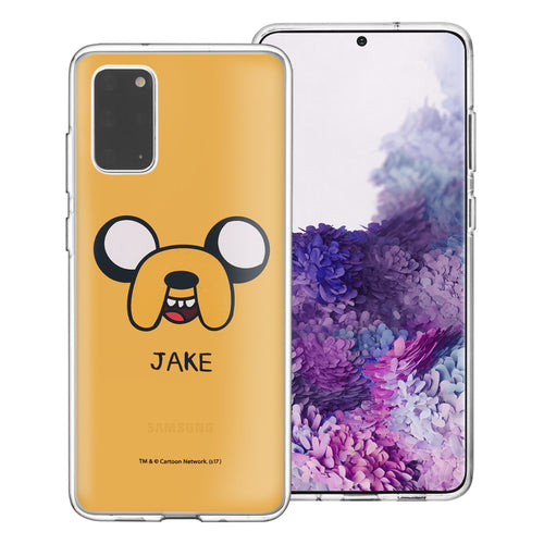 Galaxy Note20 Ultra Case (6.9inch) Adventure Time Clear TPU Cute Soft Jelly Cover - Face Jake