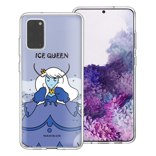 Galaxy Note20 Ultra Case (6.9inch) Adventure Time Clear TPU Cute Soft Jelly Cover - Lovely Ice Queen