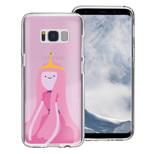 Galaxy S8 Plus Case Adventure Time Clear TPU Cute Soft Jelly Cover - Cuty Princess Bubblegum