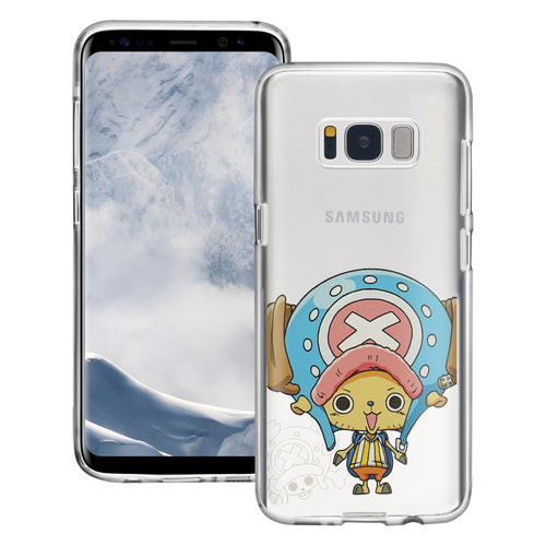 Galaxy S8 Plus Case ONE PIECE Clear TPU Cute Soft Jelly Cover - Mini Chopper