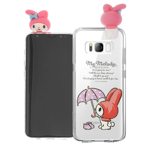 Galaxy S6 Edge Case My Melody Cute Figure Doll Soft Jelly Cover for - Figure My Melody
