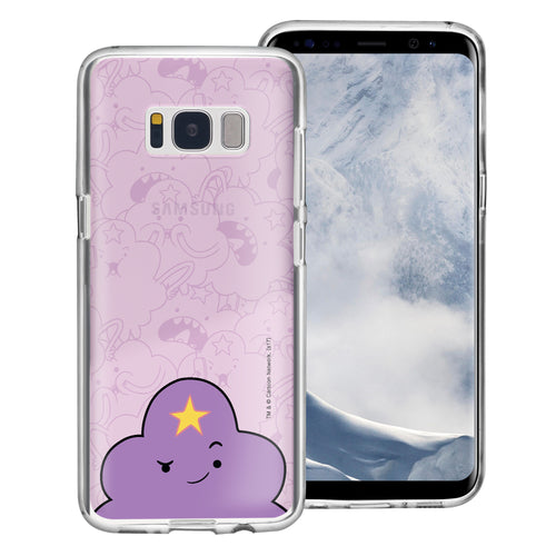 Galaxy S8 Plus Case Adventure Time Clear TPU Cute Soft Jelly Cover - Pattern Lumpy Big