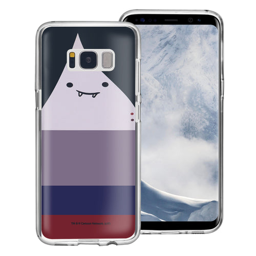 Galaxy S8 Case (5.8inch) Adventure Time Clear TPU Cute Soft Jelly Cover - Face Marceline Abadeer