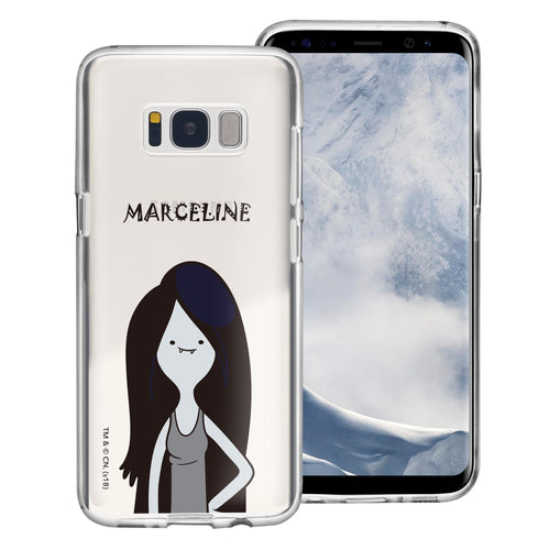 Galaxy S8 Plus Case Adventure Time Clear TPU Cute Soft Jelly Cover - Lovely Marceline