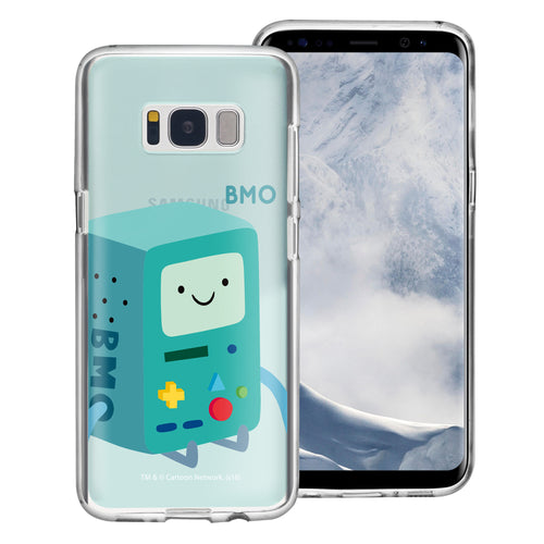 Galaxy S8 Plus Case Adventure Time Clear TPU Cute Soft Jelly Cover - Cuty BMO
