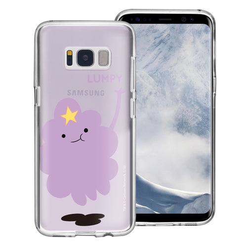 Galaxy S8 Plus Case Adventure Time Clear TPU Cute Soft Jelly Cover - Cuty Lumpy
