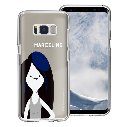 Galaxy S8 Case (5.8inch) Adventure Time Clear TPU Cute Soft Jelly Cover - Cuty Marceline