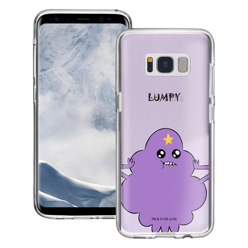 Galaxy S8 Case (5.8inch) Adventure Time Clear TPU Cute Soft Jelly Cover - Lovely Lumpy