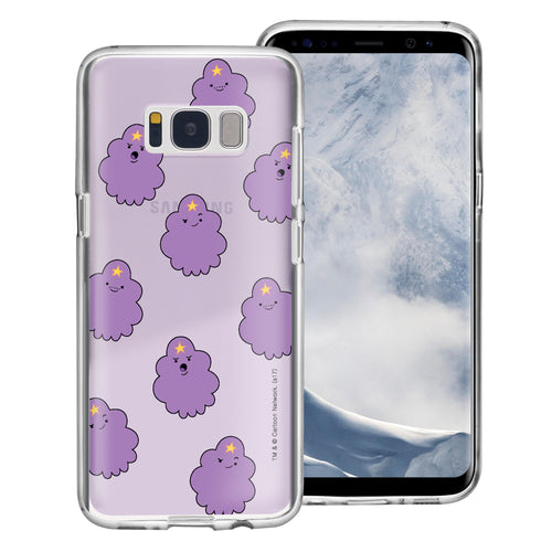 Galaxy S8 Plus Case Adventure Time Clear TPU Cute Soft Jelly Cover - Pattern Lumpy