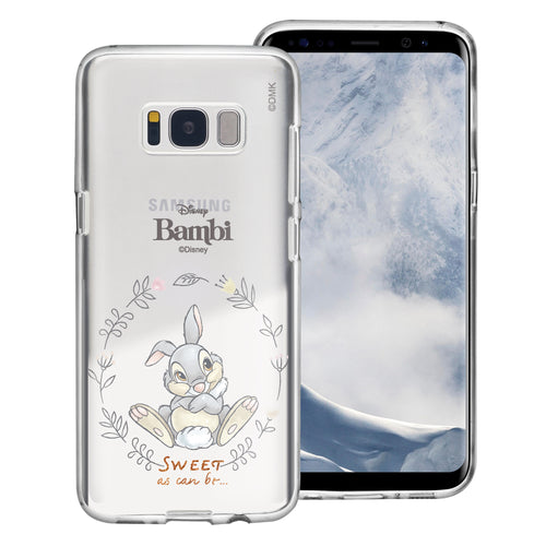 Galaxy Note5 Case Disney Clear TPU Cute Soft Jelly Cover - Full Thumper