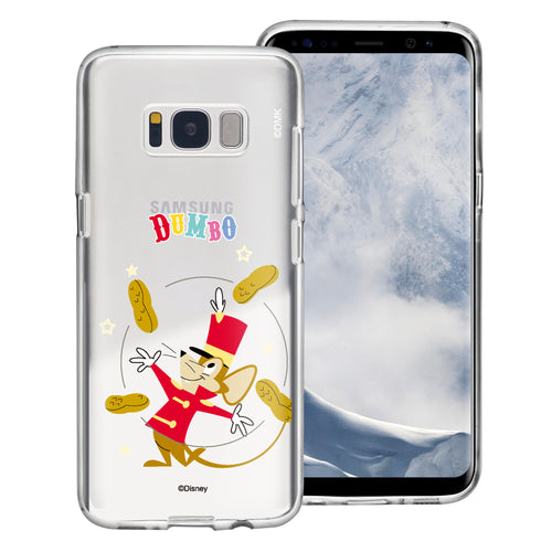 Galaxy Note5 Case Disney Clear TPU Cute Soft Jelly Cover - Dumbo Timothy