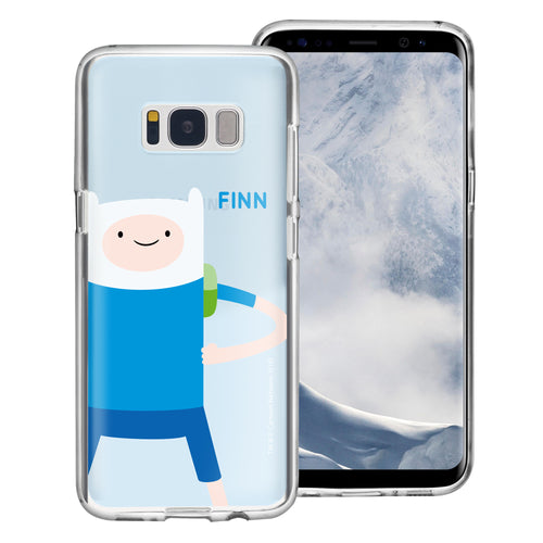 Galaxy S8 Plus Case Adventure Time Clear TPU Cute Soft Jelly Cover - Cuty Finn