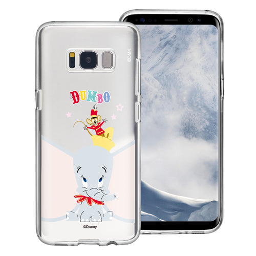 Galaxy Note5 Case Disney Clear TPU Cute Soft Jelly Cover - Dumbo Overhead