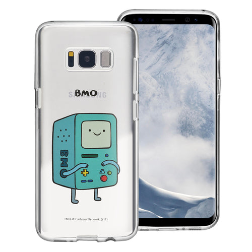 Galaxy S8 Plus Case Adventure Time Clear TPU Cute Soft Jelly Cover - Full BMO