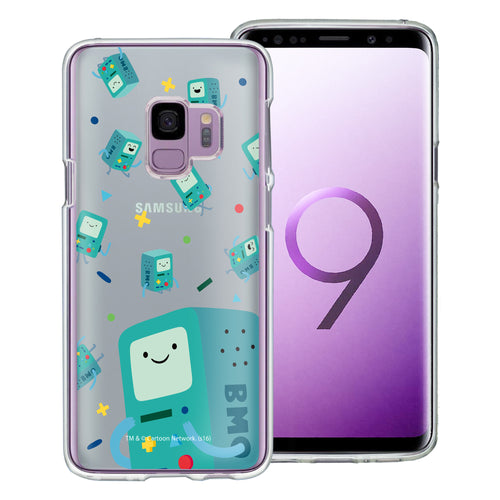 Galaxy S9 Plus Case Adventure Time Clear TPU Cute Soft Jelly Cover - Cuty Pattern BMO