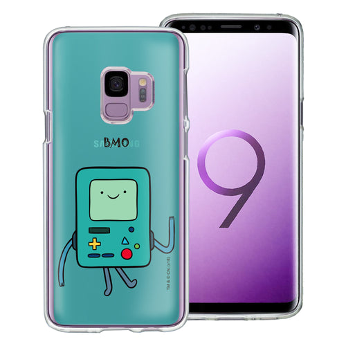 Galaxy S9 Plus Case Adventure Time Clear TPU Cute Soft Jelly Cover - Lovely BMO