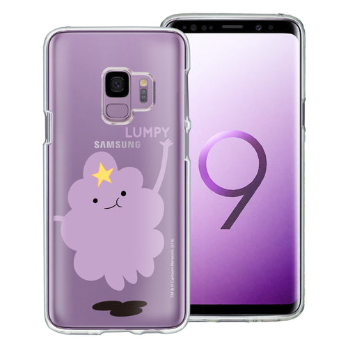 Galaxy S9 Plus Case Adventure Time Clear TPU Cute Soft Jelly Cover - Cuty Lumpy