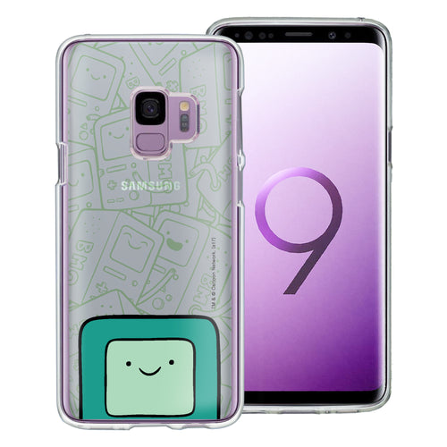 Galaxy S9 Plus Case Adventure Time Clear TPU Cute Soft Jelly Cover - Pattern BMO Big