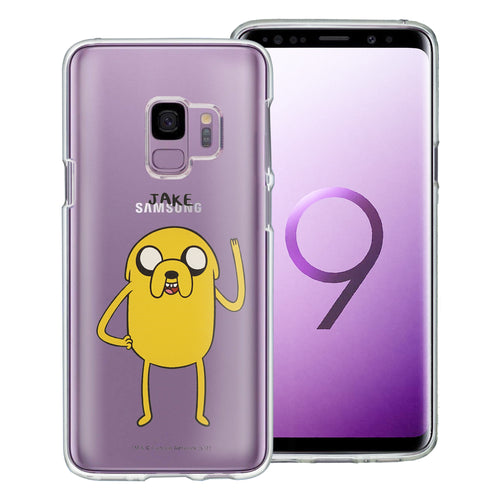 Galaxy S9 Plus Case Adventure Time Clear TPU Cute Soft Jelly Cover - Full Jake