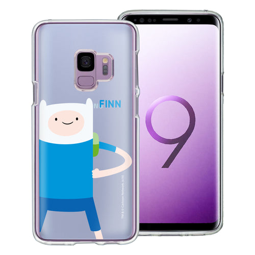 Galaxy S9 Plus Case Adventure Time Clear TPU Cute Soft Jelly Cover - Cuty Finn