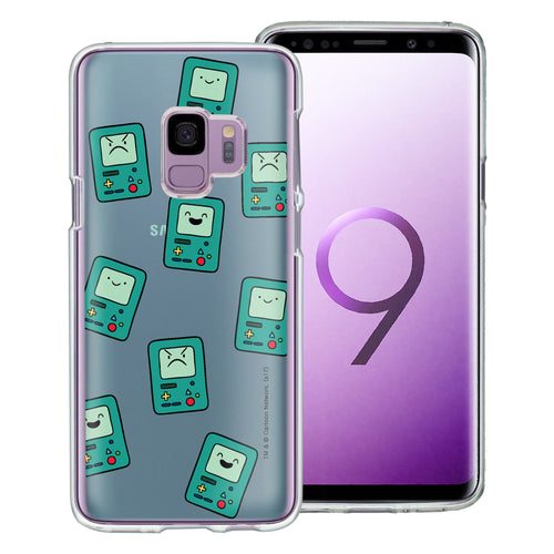 Galaxy S9 Plus Case Adventure Time Clear TPU Cute Soft Jelly Cover - Pattern BMO