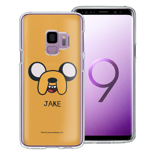 Galaxy S9 Plus Case Adventure Time Clear TPU Cute Soft Jelly Cover - Face Jake