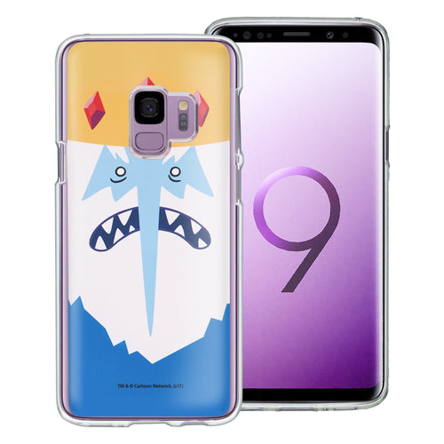 Galaxy S9 Plus Case Adventure Time Clear TPU Cute Soft Jelly Cover - Face Ice King