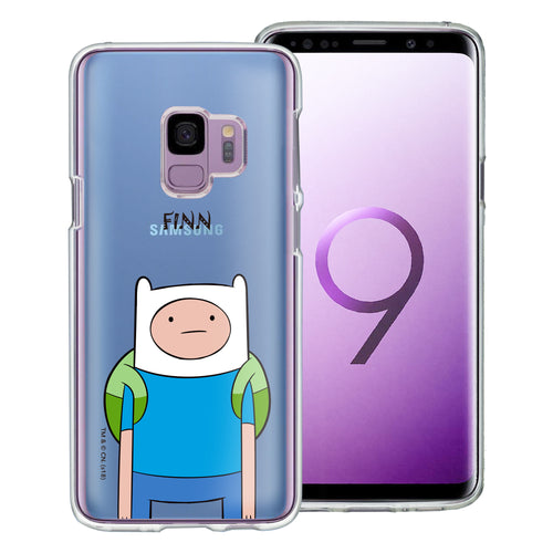 Galaxy S9 Plus Case Adventure Time Clear TPU Cute Soft Jelly Cover - Lovely Finn
