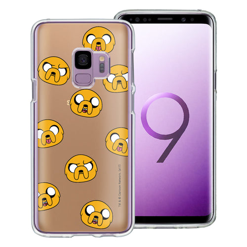 Galaxy S9 Plus Case Adventure Time Clear TPU Cute Soft Jelly Cover - Pattern Jake