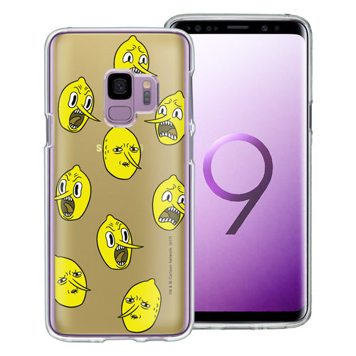 Galaxy S9 Plus Case Adventure Time Clear TPU Cute Soft Jelly Cover - Pattern Lemongrab
