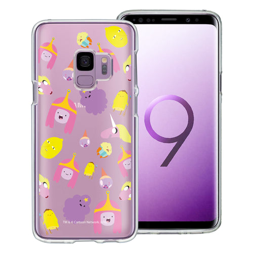 Galaxy S9 Plus Case Adventure Time Clear TPU Cute Soft Jelly Cover - Cuty Pattern Pink